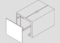 Торцевая заглушка 72 мм