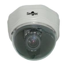 Цветная антивандальная купольная видеокамера     Smartec      STC-3512/3