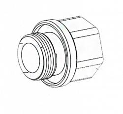 Адаптер Bosch MIC-M25XNPT34
