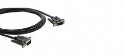 Кабель Micro VGA (HD15): Вилка - Вилка Kramer C-MGM/MGM-1