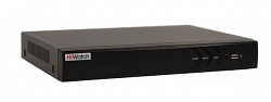 4-канальный гибридный видеорегистратор HiWatch DS-H104U