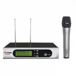 VOLTA US-101H with aluminuim case (600-636MHZ) Микрофонная 100-канальная радиосистема