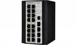 IPES-3416DSFP-48V-E SFP коммутатор 2 уровня Lantech