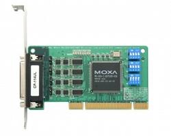 4-портовая низкопрофильная плата MOXA CP-114UL-T