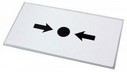KG1x50 шт. Безопасное сменное стекло для ручных извещателей
