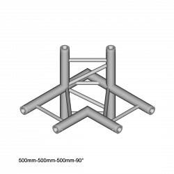 Металлическая конструкция Dura Truss DT 32 C44H   4 way Corner 90