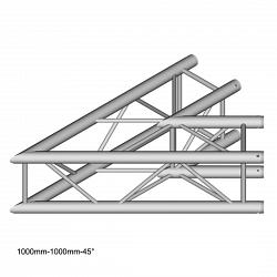 Металлическая конструкция Dura Truss DT 34 C19-L45 45