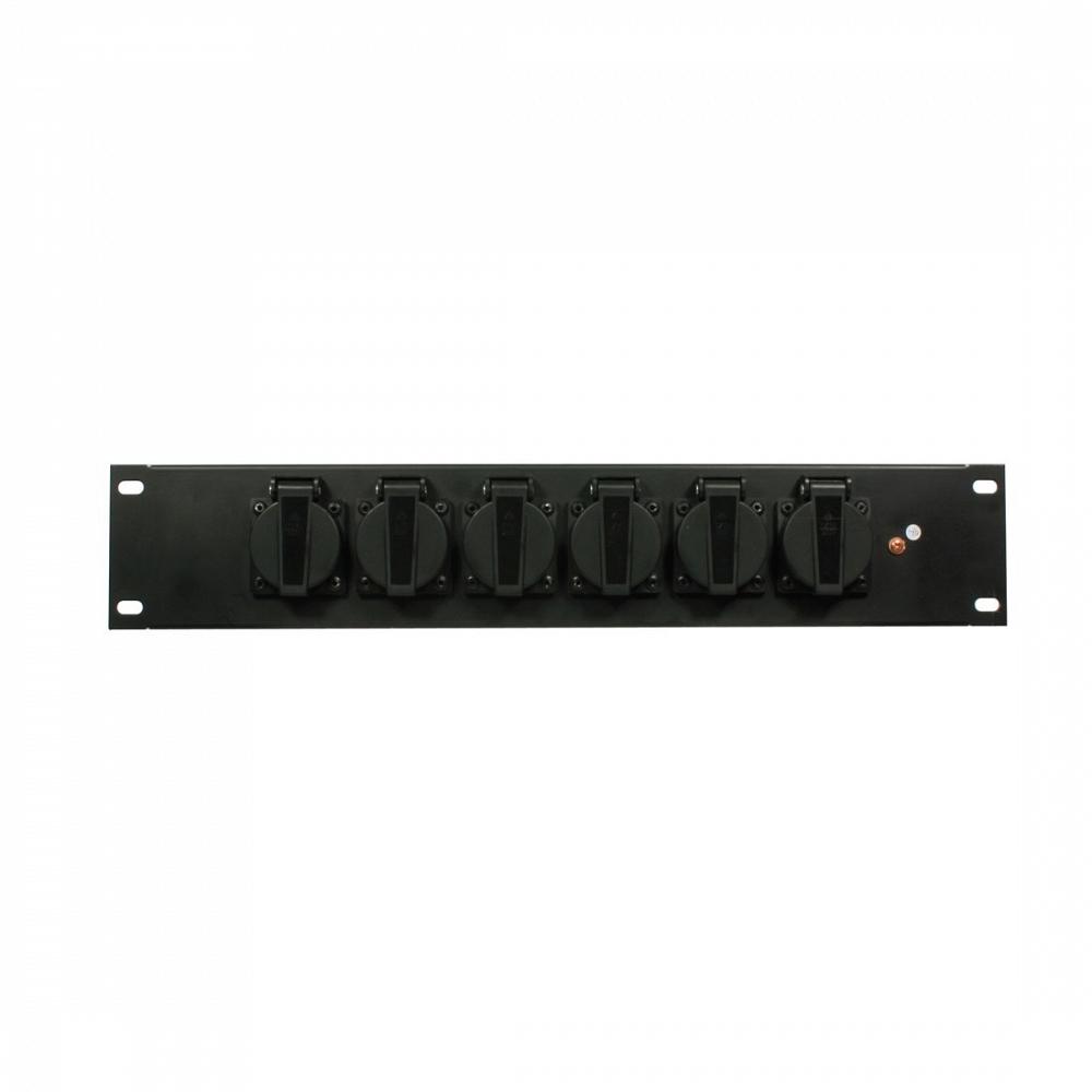 Панель Elation SD 6R schuko Rack Schuko Panel
