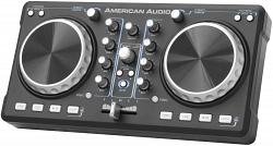 Портативный 2-канальный диджейский MIDI-контроллер American Audio ELMC 1