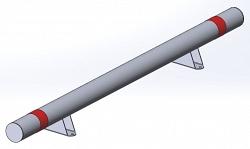 Колесоотбойник для защиты колонн КО-108.3.000 СБ НПС-Автоматика