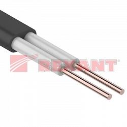 Провод ПРППМ 2х1.20 мм (Rexant 01-5515-1)