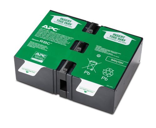 Сменный батарейный картридж APC №124 APCRBC124