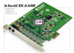 Плата аудиоввода EWCLID EX-A 4M