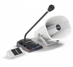 Комплект переговорного устройства клиент-кассир Stelberry S-515