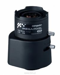 3-х мегапиксельный варифокальный объектив AG3Z3112KCS-MPIR