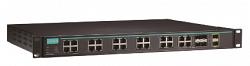 Управляемый Ethernet-коммутатор MOXA ICS-G7526A-8GSFP-4GTXSFP-2XG-HV-HV