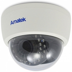 Купольная мультиформатная видеокамера Amatek AC-HD202VS v.2