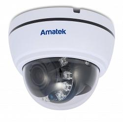 Купольная мультиформатная видеокамера Amatek AC-HD202V