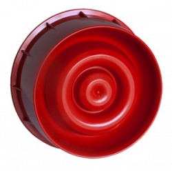Оповещатель настенный динамический звуковой адресный, красный ESMI
