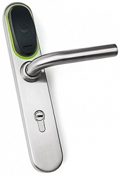 Электронная накладка на дверной замок Iron Logic Eurolock EHT net, dd = 85 mm