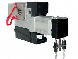 Привод осевой (BPR) с цепной лебедкой аварийного управления