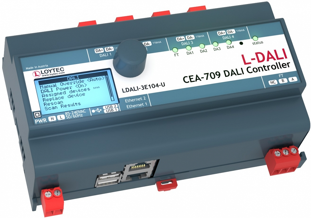 Контроллер LDALI-3E104-U