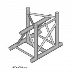 Металлическая конструкция Dura Truss DT 43 T35-VD   3way vertical Tpiece down