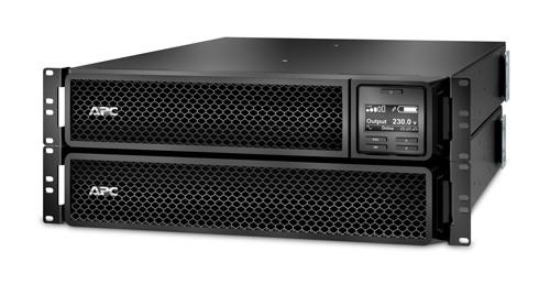 ИБП APC SMART-UPS SRT 2200 ВА 230 В, стоечное исполнение, сетевая плата SRT2200RMXLI-NC