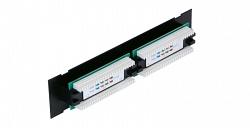 Коммутационная панель NETLAN EC-UWP-12-UD2