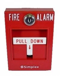 Извещатель пожарный ручной безадресный - Simplex 2099-9755