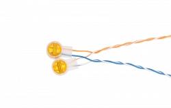 Соединитель проводников NETLAN EC-SL-UY2-YL-100