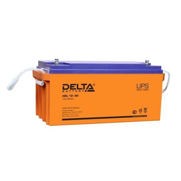 Аккумуляторная батарея Gigalink HRL12-80