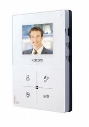 Kocom    KCV-401EV белый, Kocom Монитор цветного видеодомофона