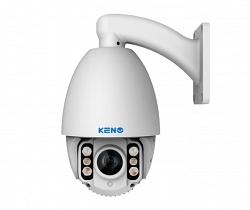 Уличная скоростная поворотная IP видеокамера KENO KN-SDE203X10