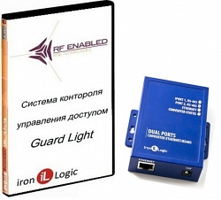 Система учета рабочего времени Iron Logic Guard Light - 10/2000 IP