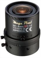 Мегапиксельный объектив   Tamron    M13VM288IR