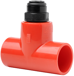 Адаптер для 25 mm трубы на капилярную трубку - Vesda/Xtralis PIP-016 комплект 10шт