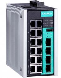Коммутатор MOXA EDS-G516E-4GSFP-T