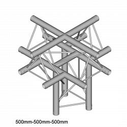 Металлическая конструкция Dura Truss DT 23 C52-XU   X-joint + up