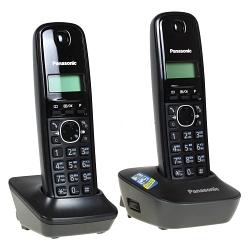 Телефон DECT Panasonic KX-TG1612RUH