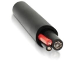 Комбинированный кабель для видеонаблюдения КабельЭлектроСвязь КВК-2П2*0,5 (КЭС) (200м)