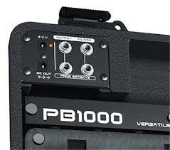 Подставка для педалей Behringer PB 1000 PEDAL BOARD