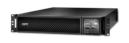 ИБП APC SMART-UPS SRT 3000 ВА 230 В, стоечное исполнение, сетевая плата SRT3000RMXLI-NC