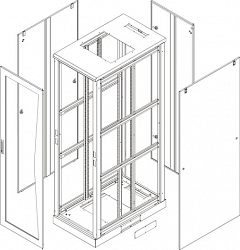 Комплект стенок TLK TFL-2-4260-MM-GY