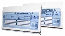 Прибор приемно-контрольный охранно-пожарный Юнитест Минитроник 8 (4 ШС)