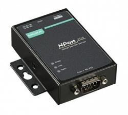 1-портовый асинхронный сервер MOXA NPort 5110-T