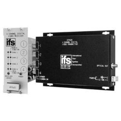 4-канальный передатчик видеосигнала и двухсторонних данных IFS VT7430-2DRDT