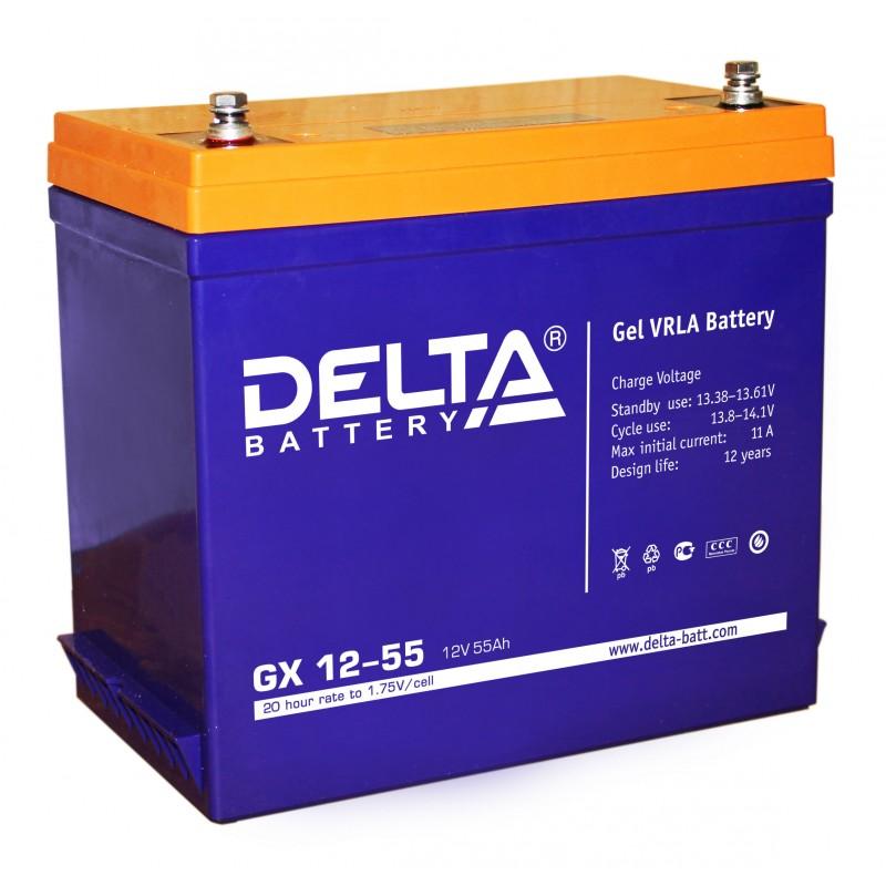 Аккумуляторная батарея Gigalink GX12-55