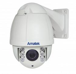 Уличная скоростная поворотная видеокамера Amatek AC-75PTZ10H