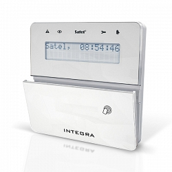 Клавиатура системы охранной сигнализации Satel INT-KLFR-WSW